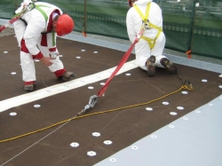 Flat Roofers Tar And Gravel Flat Roof