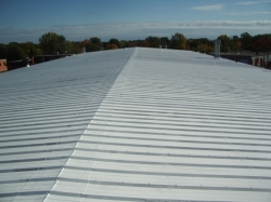 20,000 ft² Coated Metal Roof