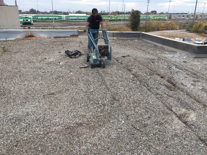 Tar And Gravel Flat Roof Flat Roofers